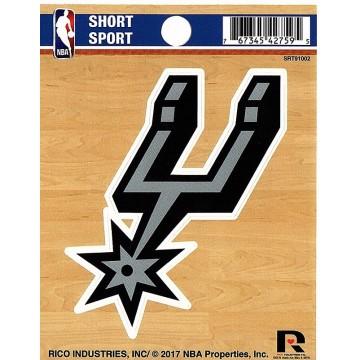 San Antonio Spurs Short Sport Decal