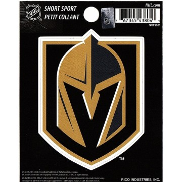 Las Vegas Golden Knights Short Sport Decal