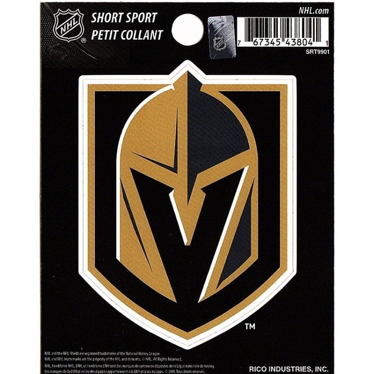 Las Vegas Golden Knights Short Sport Decal