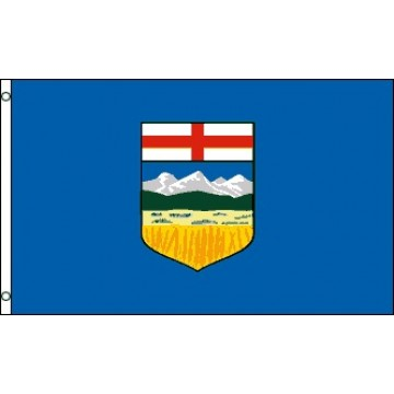 Alberta Province Polyester Flag