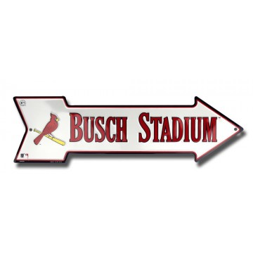 St. Louis Cardinals Busch Stadium Arrow Sign