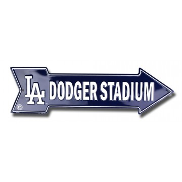 Los Angeles Dodger Stadium Arrow Street Sign