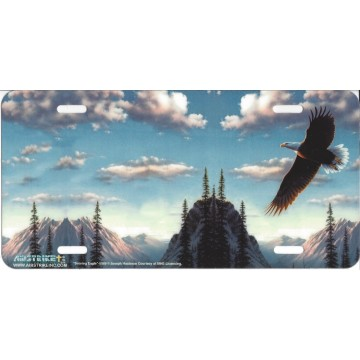 """Soaring Eagle"" License Plate"