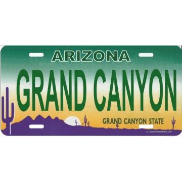 Arizona GRAND CANYON Photo License Plate