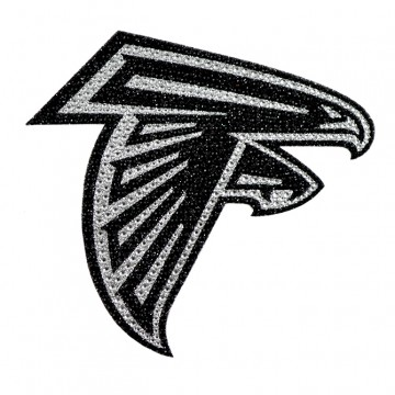 Atlanta Falcons Diamond Bling Auto Emblem