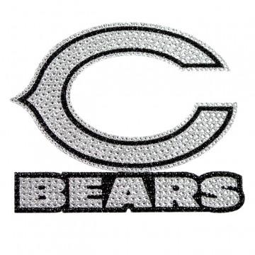 Chicago Bears Diamond Bling Auto Emblem