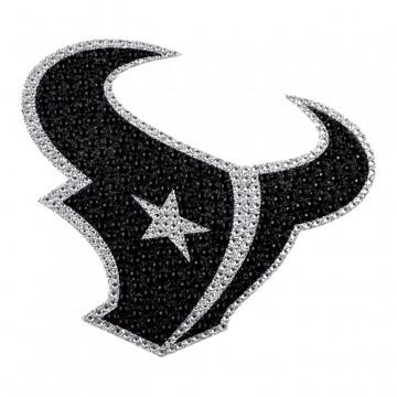 Houston Texans Diamond Bling Auto Emblem