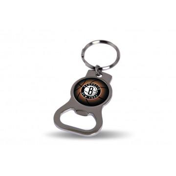 Brooklyn Nets Key Chain And Bottle Opener