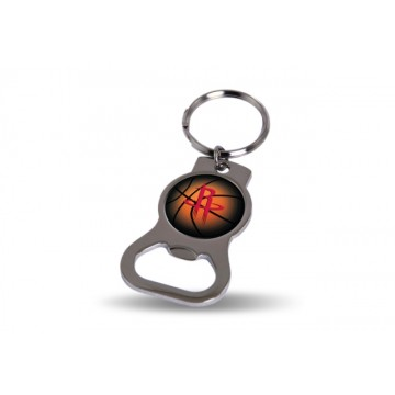 Houston Rockets Key Chain And Bottle Opener