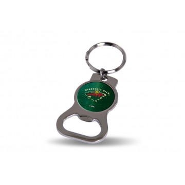 Minnesota Wild Key Chain And Bottle Opener