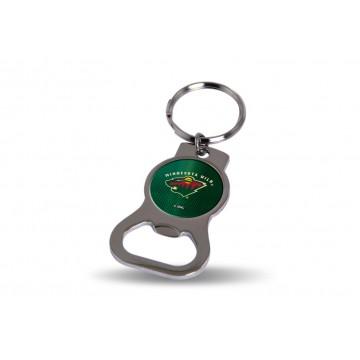 Minnesota Wild Key Chain And Bottle Opener
