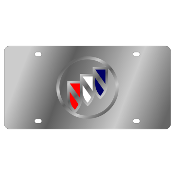 Buick Stainless Steel License Plate