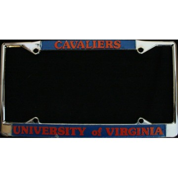 University of Virginia Cavaliers Chrome License Frame