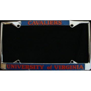 University of Virginia Cavaliers Chrome License Frame