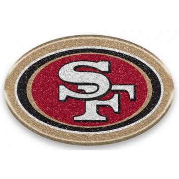 San Francisco 49ers Color Bling Emblem