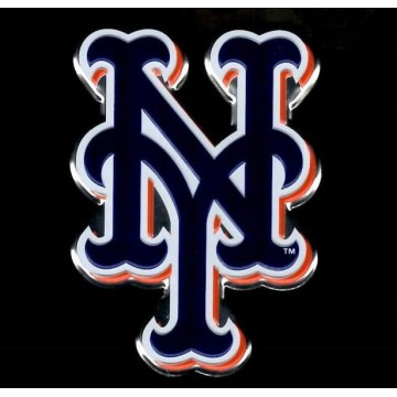 New York Mets Full Color Auto Emblem