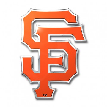 San Francisco Giants Full Color Auto Emblem