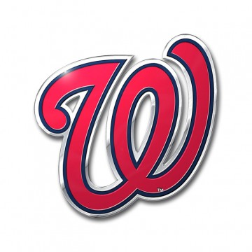 Washington Nationals Full Color Auto Emblem
