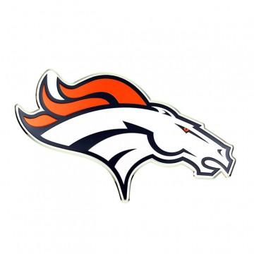 Denver Broncos Full Color Auto Emblem