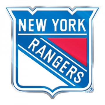New York Rangers Full Color Auto Emblem