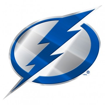 Tampa Bay Lightning Full Color Auto Emblem