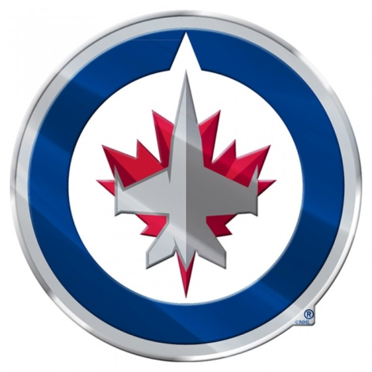 Winnipeg Jets Full Color Auto Emblem