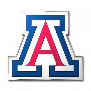 Arizona Wildcats Full Color Auto Emblem