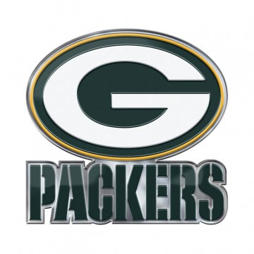 Green Bay Packers Alternative Logo Full Color Emblem