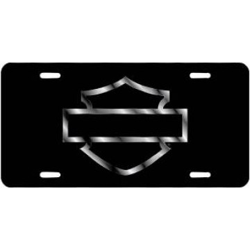 Harley-Davidson Bar & Shield Laser License Plate