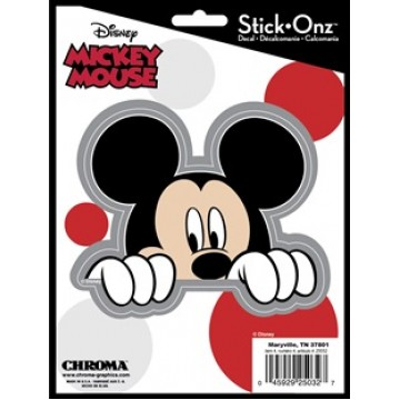 Mickey Mouse Peeking Decal