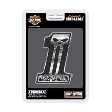 Harley-Davidson #1 Auto Emblem