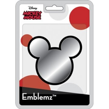 Mickey Mouse Ears Chrome Auto Emblem