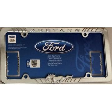 Mustang Chrome License Plate Frame