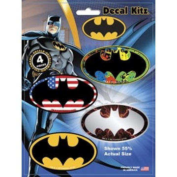 Batman Logo Variety Pack Decal Set