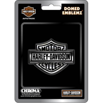 Harley-Davidson Bar And Shield Domed Auto Emblem