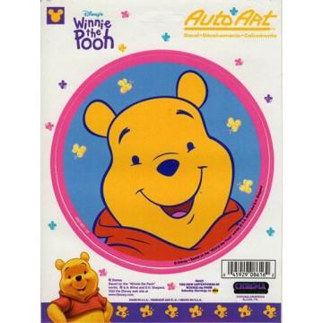 "Winnie The Pooh 5"" x 5"" Vinyl Decal"