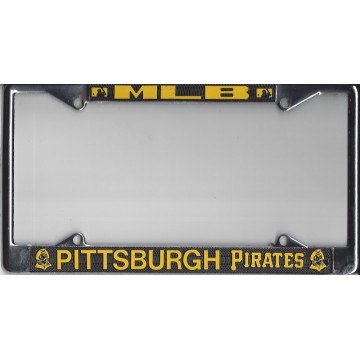 Pittsburgh Pirates Chrome License Plate Frame