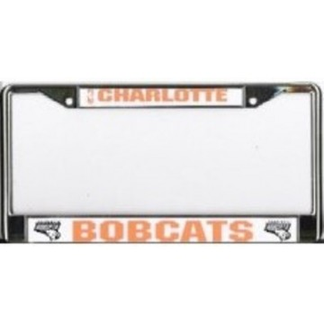 Charlotte Bobcats Chrome License Plate Frame
