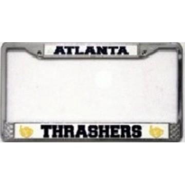 Atlanta Thrashers Chrome License Plate Frame