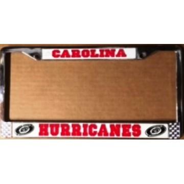 Carolina Hurricanes Chrome License Plate Frame