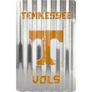 Tennessee Vols Corrugated Metal Sign