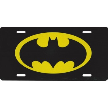 Batman Photo License Plate