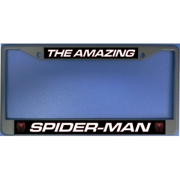 The Amazing Spider Man Chrome License Plate Frame