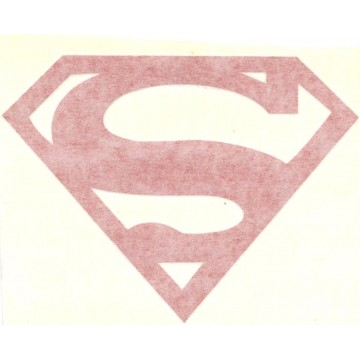 "Superman Logo Red 5"" x 4"" Decal"