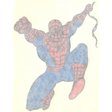 """Spiderman Full Color 4"""" x 5"""" Decal"""