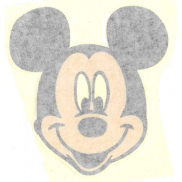 "Mickey Mouse Face Full Color 4"" x 4"" Decal"
