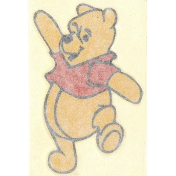 "Winnie The Pooh Full Color 2.5"" x 4"" Decal"