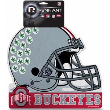Ohio State Buckeyes Die Cut Pennant