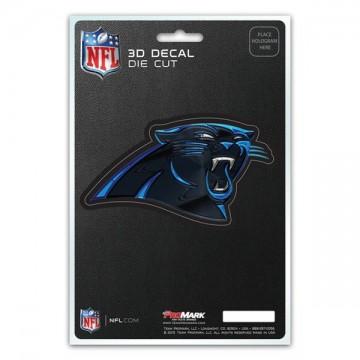 Carolina Panthers Die Cut 3D Decal