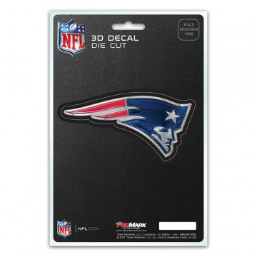 New England Patriots Die Cut 3D Decal